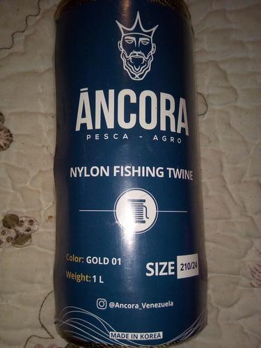 Nylon 12,15,18,21,24,27,30 para remendar redes de pesca 1 lb
