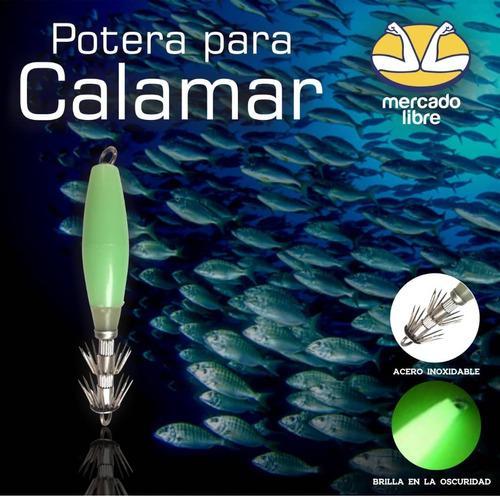 Poteras para calamar (10 cm)