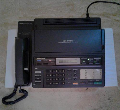 Telefono fax contestador panasonic kx-f130