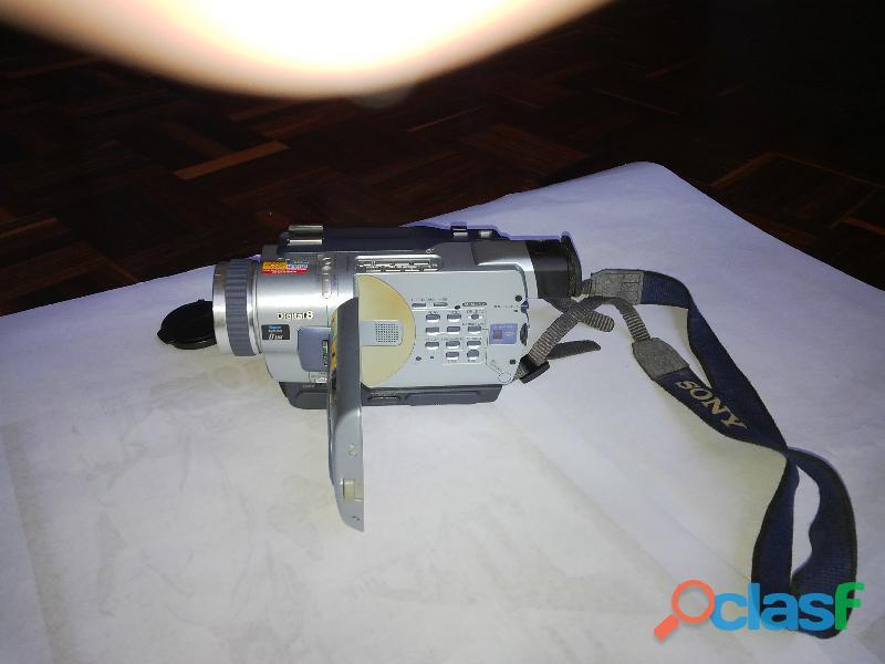Filmadora y camara sony, digital 8 modelo dcr 1rv530 ntsc 700x steadyshot