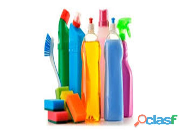Vendo productos de limpieza