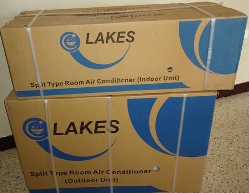 Aire acondicionado split, marca lakes 12000btu