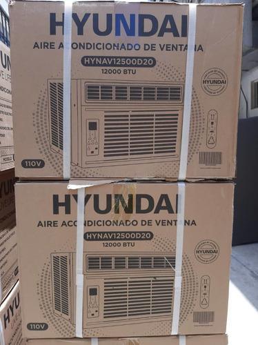 Aires acondicionados hyndai 12 mil btu corriente 110 voltios