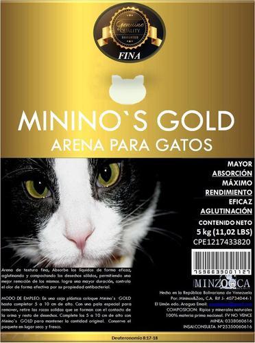 Arena para gatos mininos gold