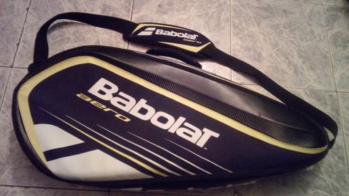 Bolso babolat aero (para 6 raquetas de tenis) + regalo