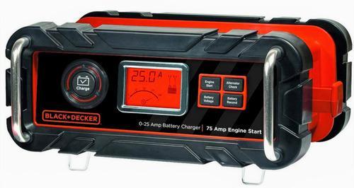 Cargador inteligente para baterías marca black+decker 25