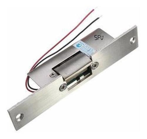 Cerradura hembrilla electrica control de acceso 12v corta
