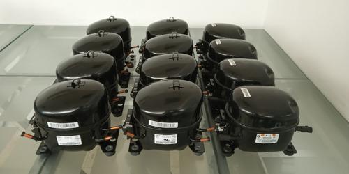 Compresor motor de nevera 1/4hp r134a congelador enfriador