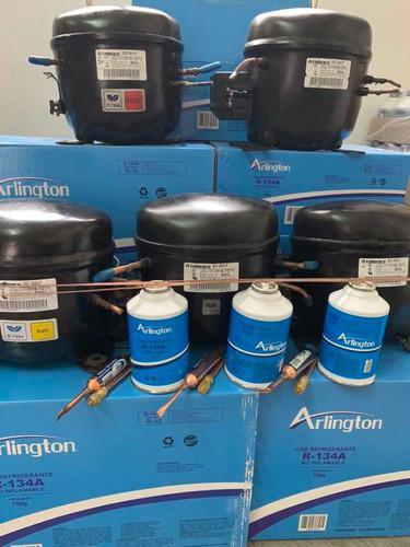 Compresor nevera congeladores cavas con kit de instalación