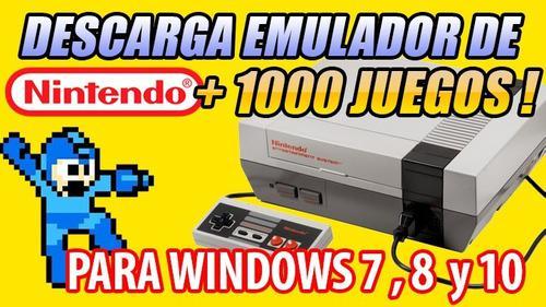 Emulador de nintendo + 1000 juegos