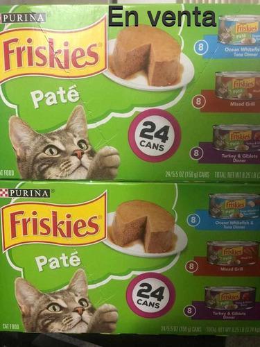 Friskies comida humeda para gatos friskies