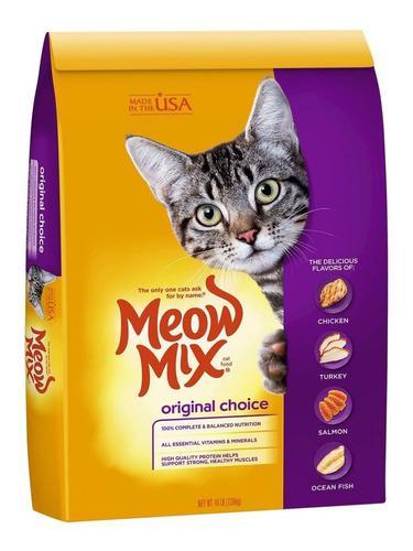 Meow mix original comida para gatos oferta 7.26 kg