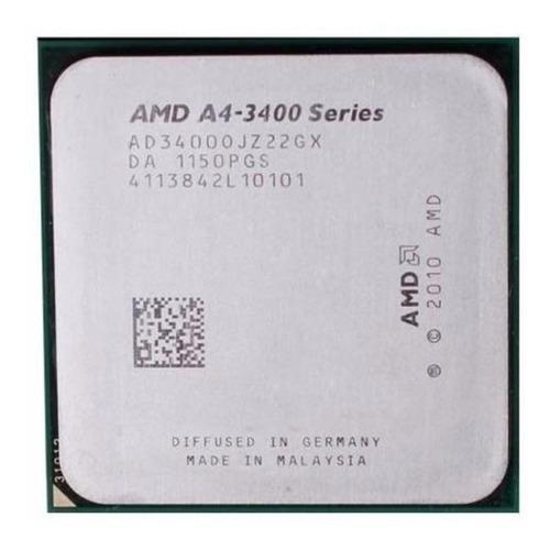 Procesador amd a4-3400 a 2.7ghz socket fm1 dual-core