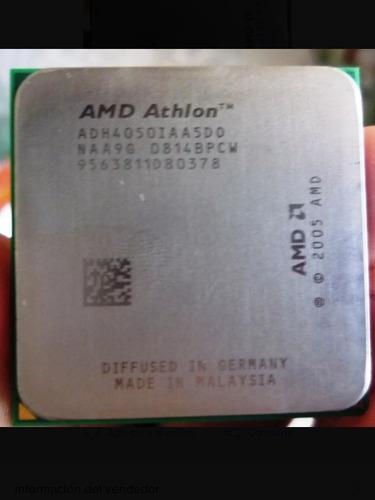 Procesador amd athlon dual core 2.7 ghz