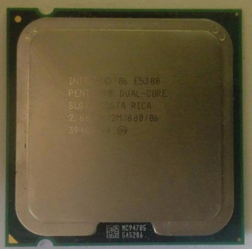 Procesador dual core e5300, usado