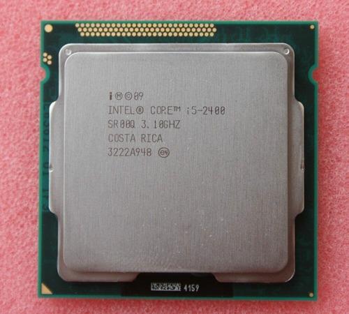Procesador i5 2400 3.1ghz 3.4ghz max lga 1155