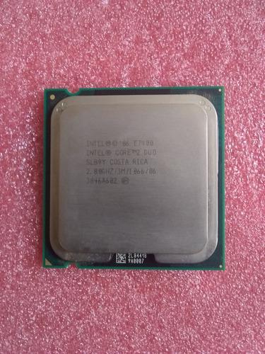 Procesador intel core2 duo e7400 lga775 2.8ghz 3mb fancooler