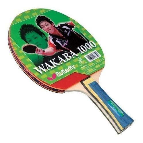 Raqueta ping pong butterfly wakaba 1000 2000 3000
