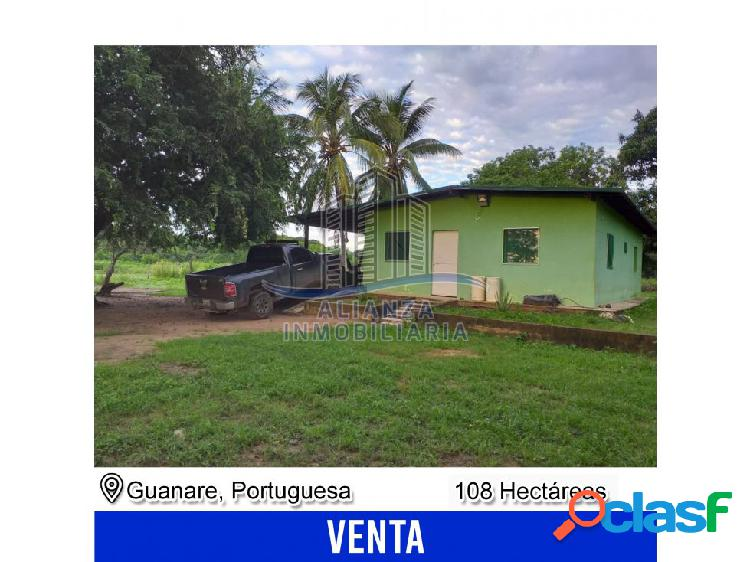 Finca de 108 hectáreas en guanare - edo. portuguesa