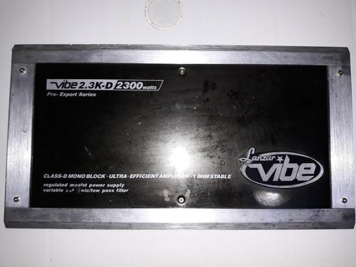 Amplificador lanzar vibe 2300 mono block