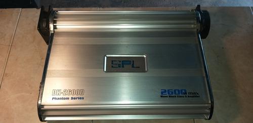 Amplificador spl 2600 monoblock envenenada 7000 watt
