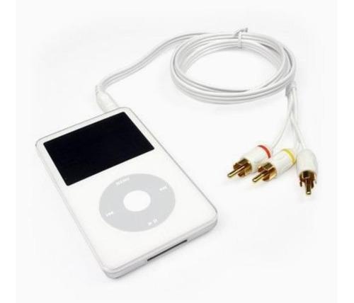 Cable original apple de audio y video para ipod y iphone