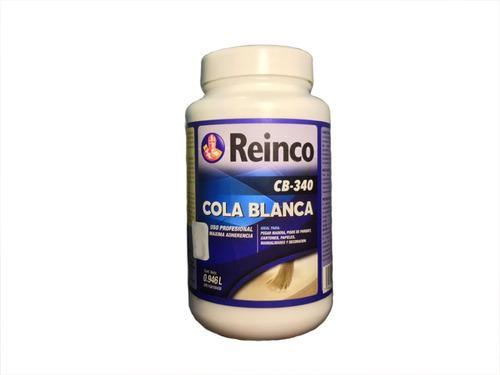 Cola blanca reinco 1 litro carpintería pega 1/4 galón