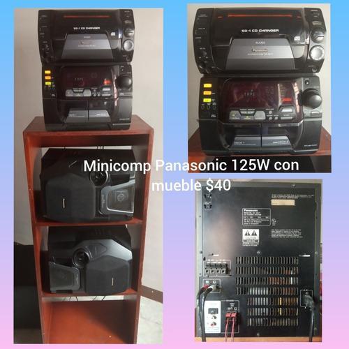 Equipo minicomponente panasonic 125watts