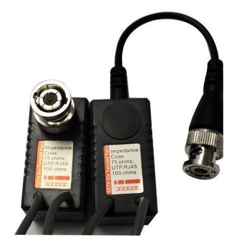 Hdvd 1 par video transceptor red audio conector