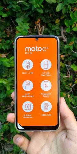 Motorola e6 plus edición especial (160 verdes)