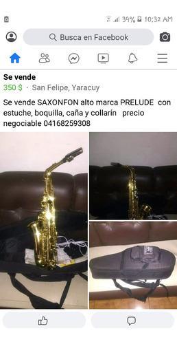 Saxofón prelude alto
