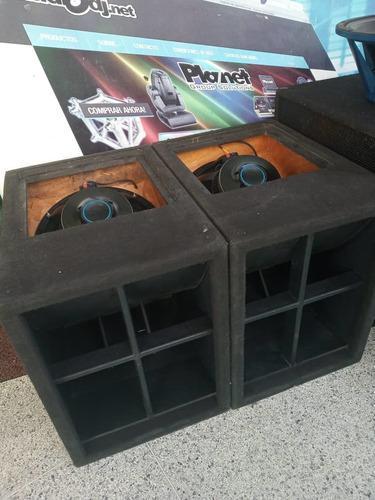 Turbo sound sencillas con parlantes lex audio (nuevos)