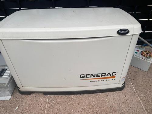 Planta eléctrica generac 10 kva usada