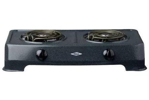 Cocina eléctrica 2 hornillas haceb original garantía d 1