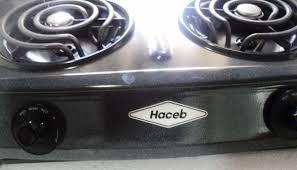 Cocina electrica haceb colombiana 2 hornillas