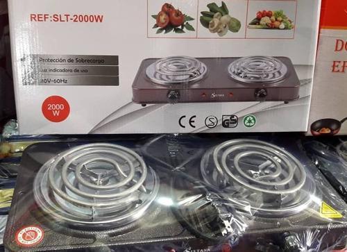 Cocinas eléctricas de dos y una hornilla. marca sultana