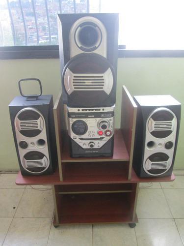 Equipo de sonido marca philis 3cd