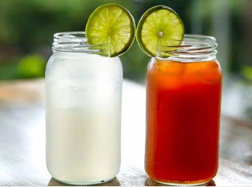 Lote 12 frascos de vidrio 500ml(mayonesa regular)