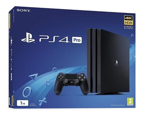 Playstation pro nuevas 1 tb+5 juego físico+1 control