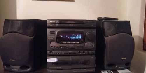 Radio aiwa minicomponente