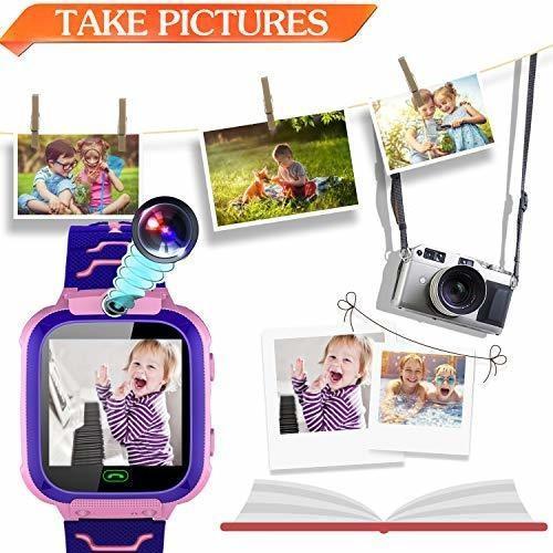 Reloj inteligente para niño ranura gps tracker niña