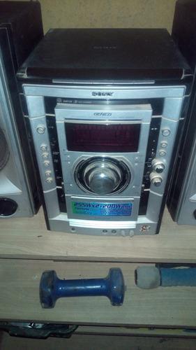 Sony genezi mhc-gnx80 para reparar. (salida de sonido).