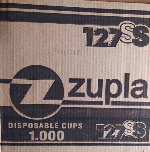 Vasos plasticos zupla 127 ss