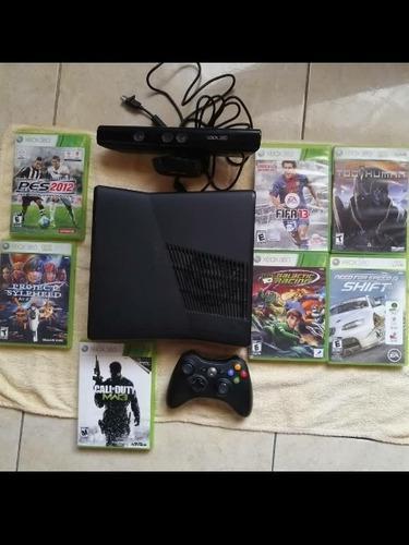 Xbox 360 con 7 juegos originales