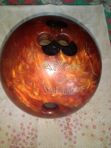 Bola bowling boliche marca amf strikeline de 13 libras #15