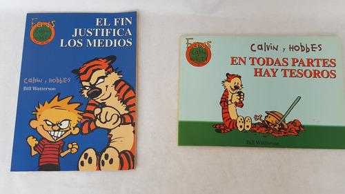 Calvin y hobbes libros de comics, usados(15)