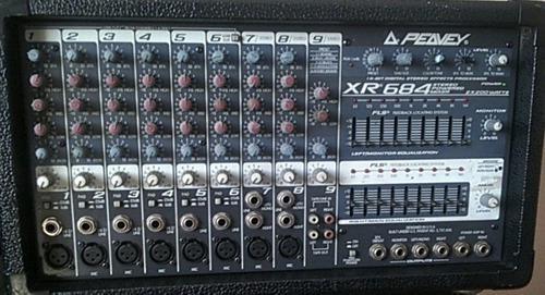 Consola sonido peavey xr684 (consola pasiva)