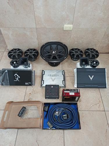 Equipo de sonido completo para tu vehiculo