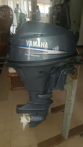 Motor fuera de borda yamaha 15 hp 4 tiempos como nuevo