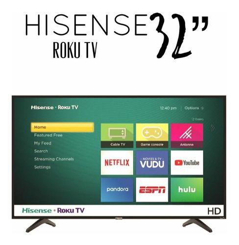Smart tv de 32 led roku tv